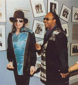 What was the first song Michael and Stevie Wonder recorded together