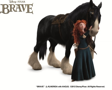 What is Merida's ngựa name?