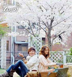 Who was rumored to play in Love Rain?