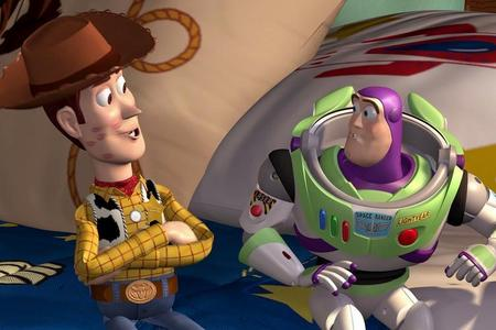 What is the tagline of Toy Story?