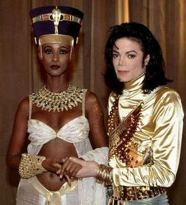 Who is this beautiful lady with Michael