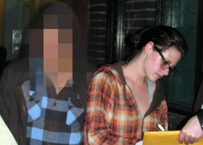 Who is Kristen with here?