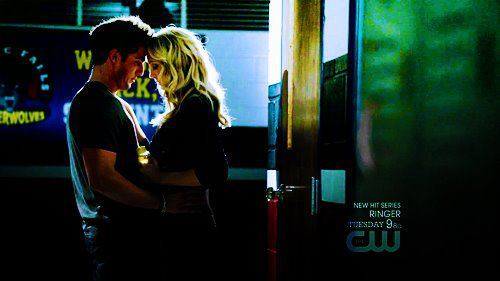 Caroline: Tyler, it doesn't matter how many times I dance with him. I love you.