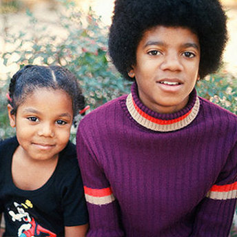 What mwaka was this picha taken of Michael and Janet