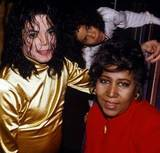 Who is this legendary entertainer with Michael Jackson