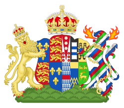 This is who's coat of arms?