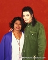Michael and his mother, Katherine, were very close