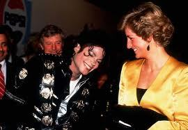 When did Michael and Princess Diana first meet