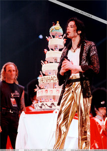 "Michael celebrated his ""39th"" birthday in Copengagen while on tour in 1997"