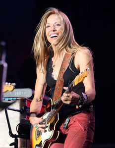 Sheryl Crow&#39;s music career was launched when toured with Michael as backing vocalist back in 1988