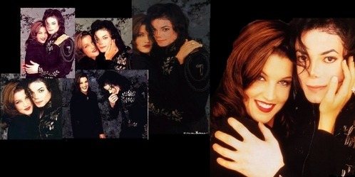 "Alongside Michael, Lisa Marie Presley was in attendance at the taping of ""The Jackson Family Honors"" as his date"