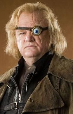 Who did mad eye moody turn into a چوہا in the goblet of fire?