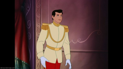 T/F: Prince Charming only wears 2 different clothes in the original movie. (excluding paintings on the wall)