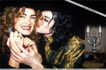 Brooke Shields was in attendance an afterparty, held in Michael's honor, as his rendez-vous amoureux, date back in 1993