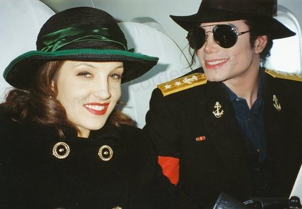 Michael and Lisa Marie were introduced to each other though her father, Elvis Presley, in the mid-70's