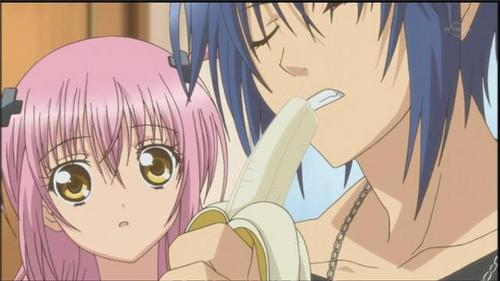 In what episode does Ikuto try a banana for the first time?