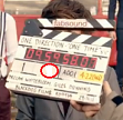 "In the Film Slate of the video ""one thing"", Which number is Harry?"