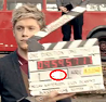 In the Film Slate of the video &#34;One thing&#34;, Which number is Niall?