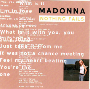 'Nothing Fails' was released in...