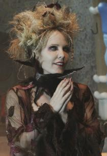 Who portrayed the Blind Witch in the episode True North