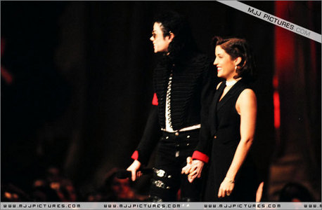 Michael met his first wife, Lisa Marie Presley, when he ...