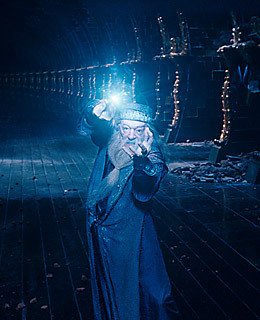 What is the full name of Dumbledore?