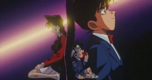 what episode did shinichi go to a parallel world where he never turns back into shinichi while ran still waits for him?