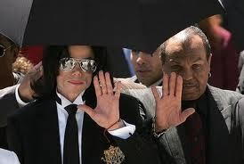 Who is this man with Michael Jackson