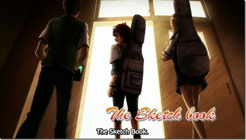 "What was the name of the last song that ""The Sketch book"" played at the Kaimei Rock Festival?"