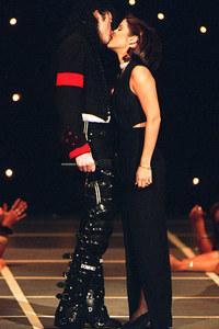 Michael had two stepchildren from his first marriage to Lisa Marie Presley