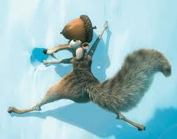 Did Scrat ever got the acron in the 1st and 2nd movies of Ice Age?