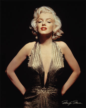 Marilyn briefly appeared in this famous dress in...?
