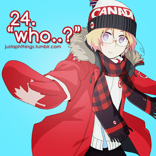 In the English Dub, how many times does Canada say 'stupid hoser?'