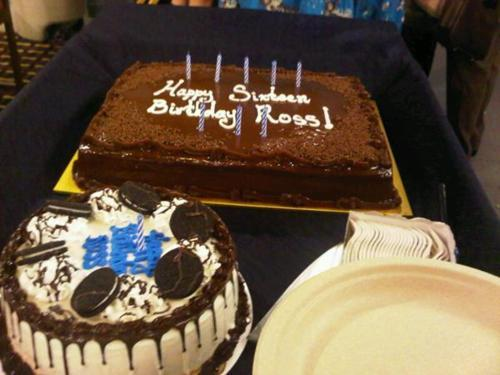 Ross birthday is on?