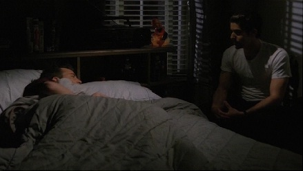 Why did Eddie watch Chandler sleep?