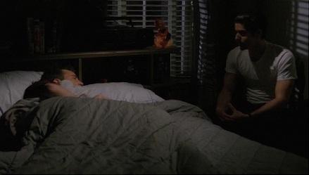 Why did Eddie watch Chandler sleep?