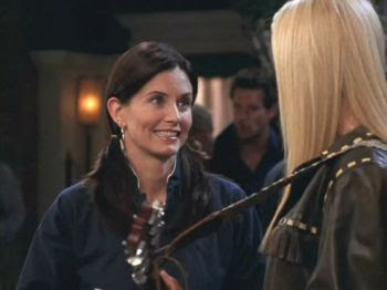 How many domande does Monica & Phoebe ask in TOW Rachel's Dream?