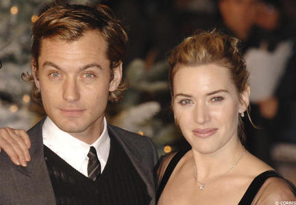 How many are films with Kate Winslet and Jude Law?