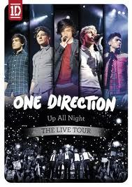 At the One Direction 'Up All Night'-Tour, which Motto hangs over the door in the background when they're singing 'Gotta Be You'?