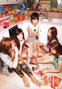 Who are the two biggest eaters in Girls' Generation?