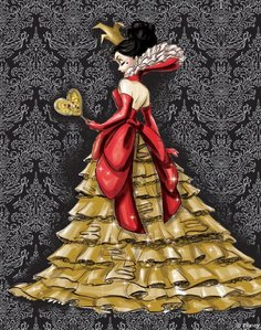 This queen of Hearts Designer Doll is based of which one?