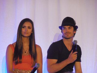 Where are Ian and Nina in this photo?