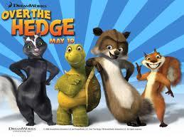 Which character was Avril Lavigne the voice of in Over The Hedge?