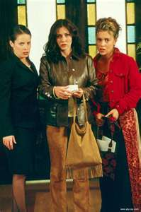 Which original Charmed actress appears on  the hit ABC Family show Pretty Little Liars as Ella Montgomery?