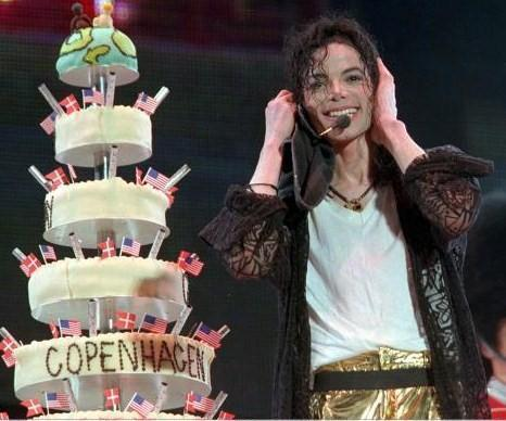 "What world capital did Michael celebrate his ""39th"" birthday back in 1997 during the ""History"" tour"