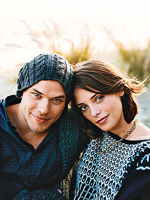How many are Film with Ashley Greene and Kellan Lutz?