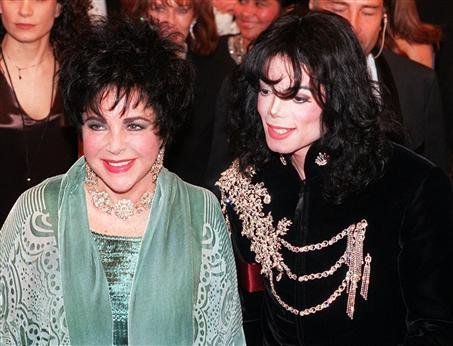Who is this beautiful lady in the photograph with Michael