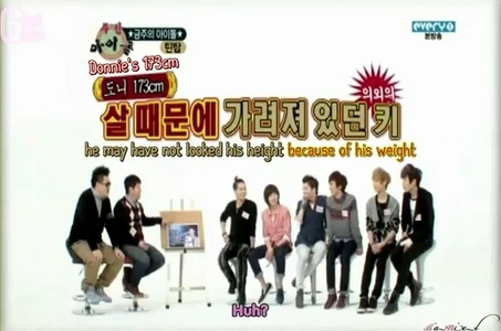 "In Weekly Idol, when the mc asks ""Why there are so many hot-tempered kids in Teen Top?"", what did C.A.P answered?"