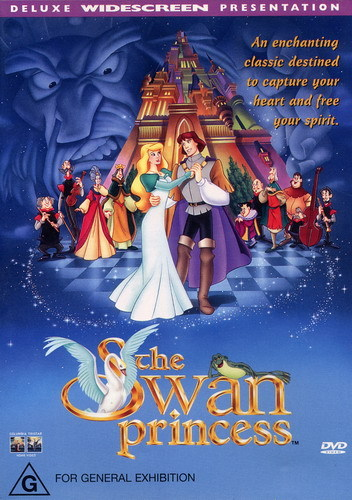 What was the release date for the Swan Princess for Australia?