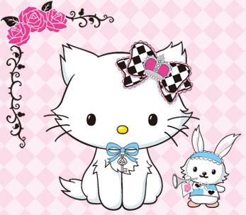 Who gave charmmy kitty her spitze trim bow?